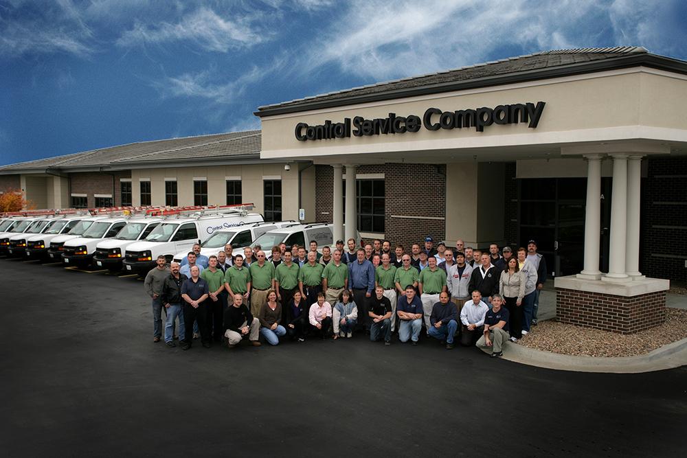 Control Service Company Team